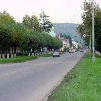 Въезд в город, Железногорск