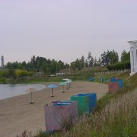 пляж, Железногорск
