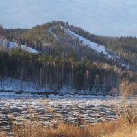 Ледоход на реке, Зеленогорск