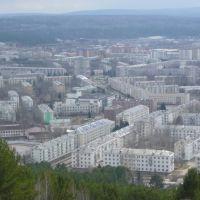 Вид на город с горы, Зеленогорск
