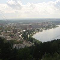 Вид с горы, Зеленогорск