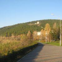 Набережная реки Кан, Зеленогорск
