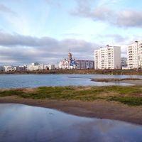 Осенью на карьере, Зеленогорск