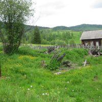 Раньше здесь был дом Горбуновых, а дом Топтыгиных еще стоит, Артемовск