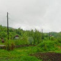 Артемовск. Гора Колокол. Вид из огорода моей бабушки. Панорама., Артемовск