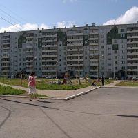 Двор. Микрорайон 8, Ачинск