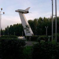 Монумент. Самолет, Ачинск
