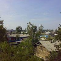 Вид на ЮВР с моста ст. Ачинск-2, Ачинск