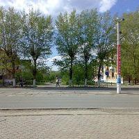 Вид на сквер Б.Богаткова, Ачинск