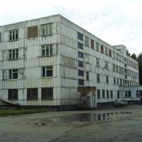 Наша казарма(вид из курилки), Ачинск