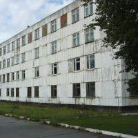 Наша казарма(вид от дороги), Ачинск