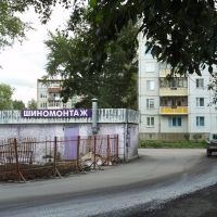 Бывшее КПП №1, Ачинск