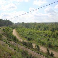 4025-й км Транссиба. На подъезде к Зеледеево, Балахта