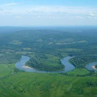 Река Чулым, Балахта