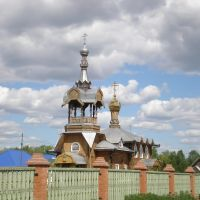 Свято-Духовский храм в Курагино, Белый Яр