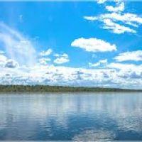 Туба, панорама с берега, Белый Яр