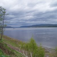 Angara river, Богучаны