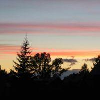 После заката солнца., Богучаны