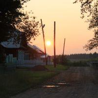 На закате, Большая Мурта