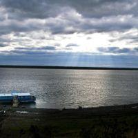 Дебаркадер в Верхнеимбатске, Верхнеимбатск
