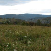 Над Горячегорском в сентябре 2009, Горячегорск