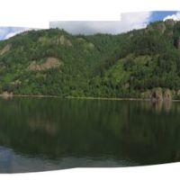 Панорама левого берега Енисея 180º, Дивногорск