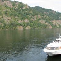 Yenisei river., Дивногорск