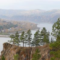 осень в Дивногорске, Дивногорск