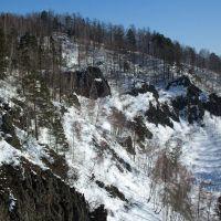Скалы на Дивногорской видовке, Дивногорск