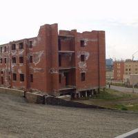 Dudinka, construction abandonnée, Дудинка