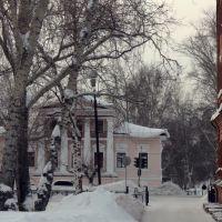 двор школы №1, Енисейск