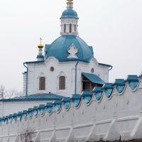 Надвратная церковь Спасо-Преображенского мужского монастыря в Енисейске., Енисейск