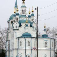Церковь Успения (Успенская) в г. Енисейске. Заложена 9 сентября 1793г., Енисейск