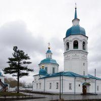 Спасский собор Спасо-Преображенского мужского монастыря в г. Енисейске. 1731-1756 годы., Енисейск