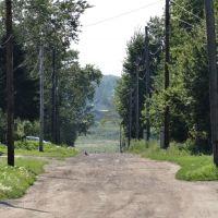 Улица в посёлке, Заозерный