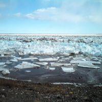 Лед на Енисее, Игарка