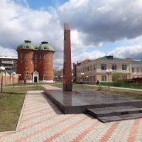 Памятник Борцам за Советскую власть, Иланский