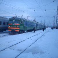 Электропоезд ЭР9Т Иланская-Уяр, Иланский