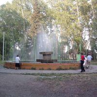 Фонтан в Парке Культуры и Отдыха Железнодорожников, Иланский