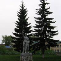 Скульптура, Иланский, Красноярский край,  01.06.2012, Иланский