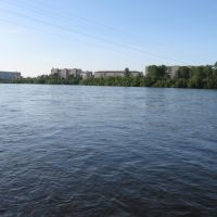 Вид правого берега, Канск