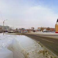 Канск, Предмостная площадь, Канск