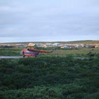 Вертолетная площадка п. Караул, Караул