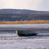 Лодка, Кежма