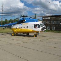 Ми-8 в Кодинске, Кежма