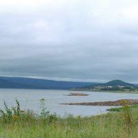 The river Angara.  Nevonka. Невонка, Кежма