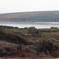 view of the river Angara - Koda 2009, Кежма