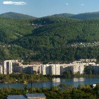Сопки панорама, Красноярск
