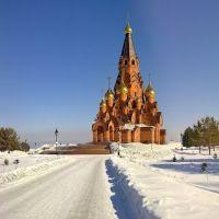 Лесосибирск, Крестовоздвиженский Собор, Лесосибирск