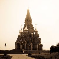 Лесосибирск. Собор Воздвижения Креста Господня, Лесосибирск